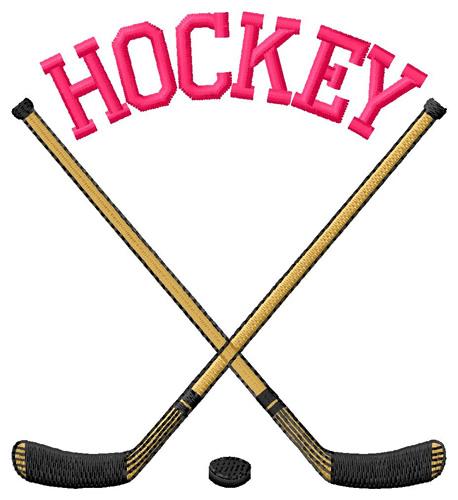 Hockey Sticks Crossed With .