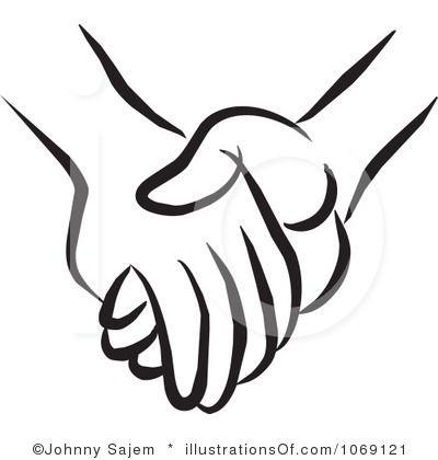 Holding Hands Clip Art .-holding hands clip art .-8
