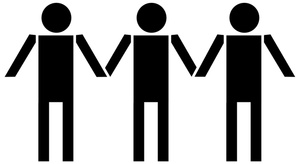 Holding Hands Clipart Image: .-Holding Hands Clipart Image: .-6