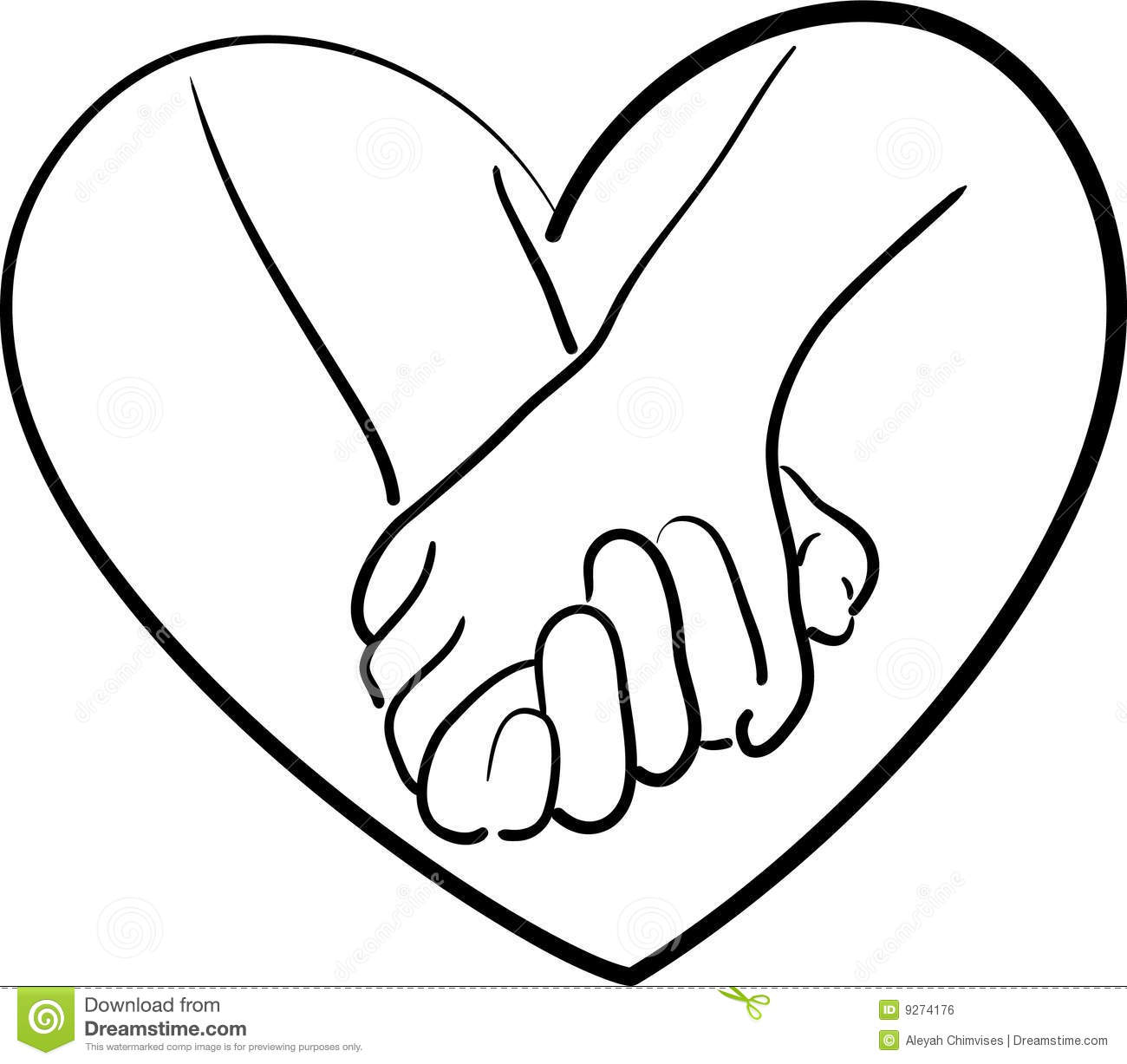 Holding Hands Royalty Free Stock Image I-Holding Hands Royalty Free Stock Image Image 9274176-12