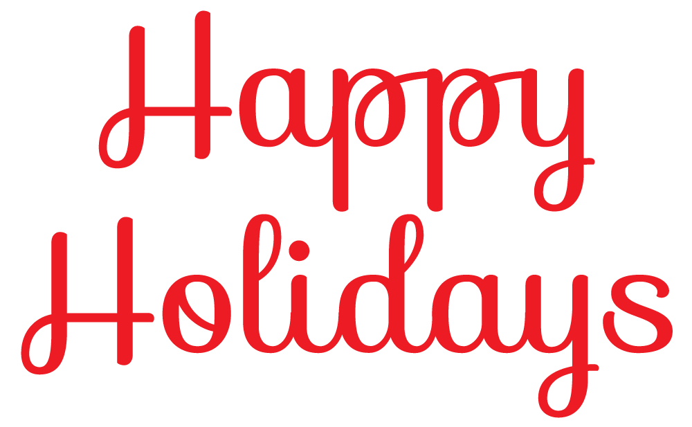 Holiday banner clip art clipart