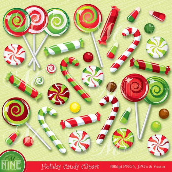 Red Christmas Candy Cane - Fr