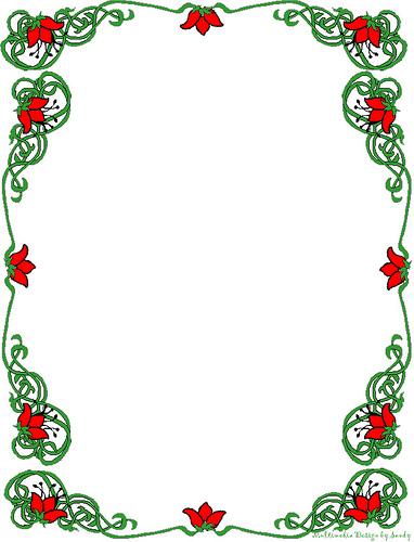 Holiday Clip Art Free Border