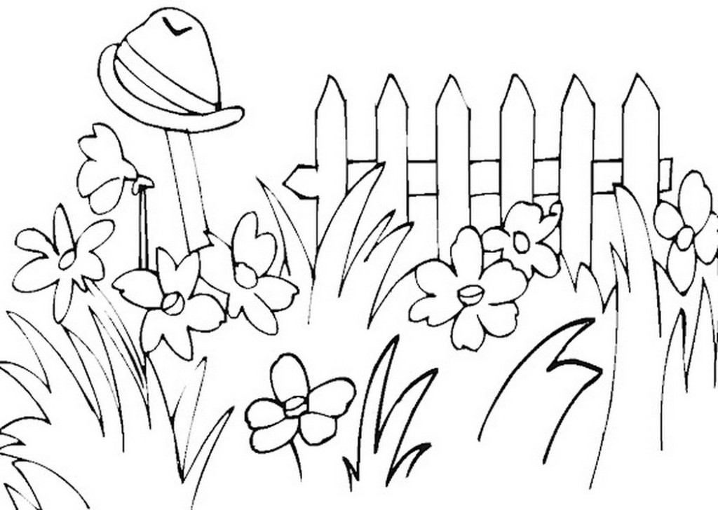 Garden Clipart Black And White Look At Clip Art Images
