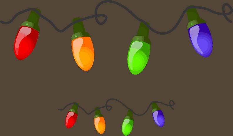 Holiday Clipart Free Christmas Lights Holiday Clip Art Christmas