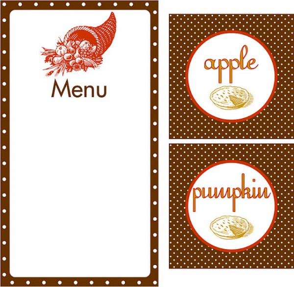 Holiday Menu Clipart #1-Holiday Menu Clipart #1-5