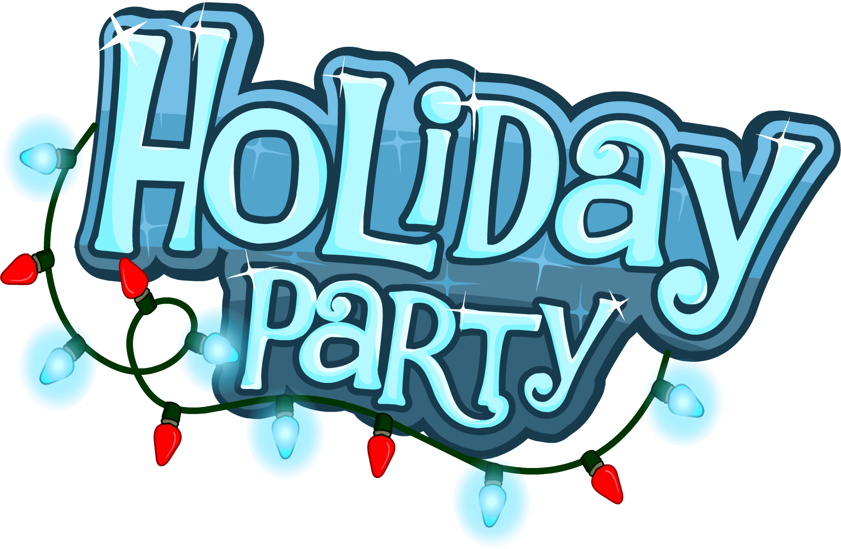 Holiday Party Clip Art. Clip