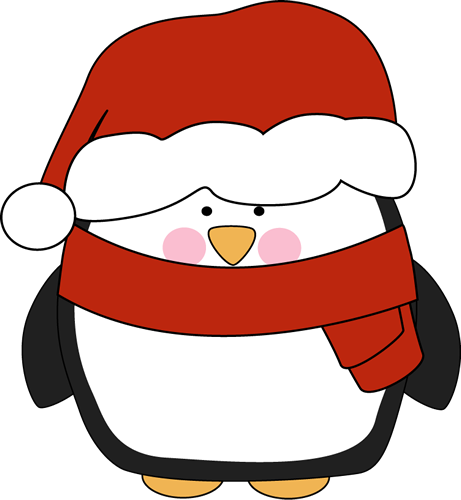 Holiday Penguin Clip Art | Cl - Winter Holiday Clip Art