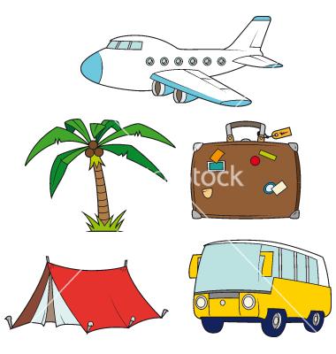 Holiday Travel Clip Art