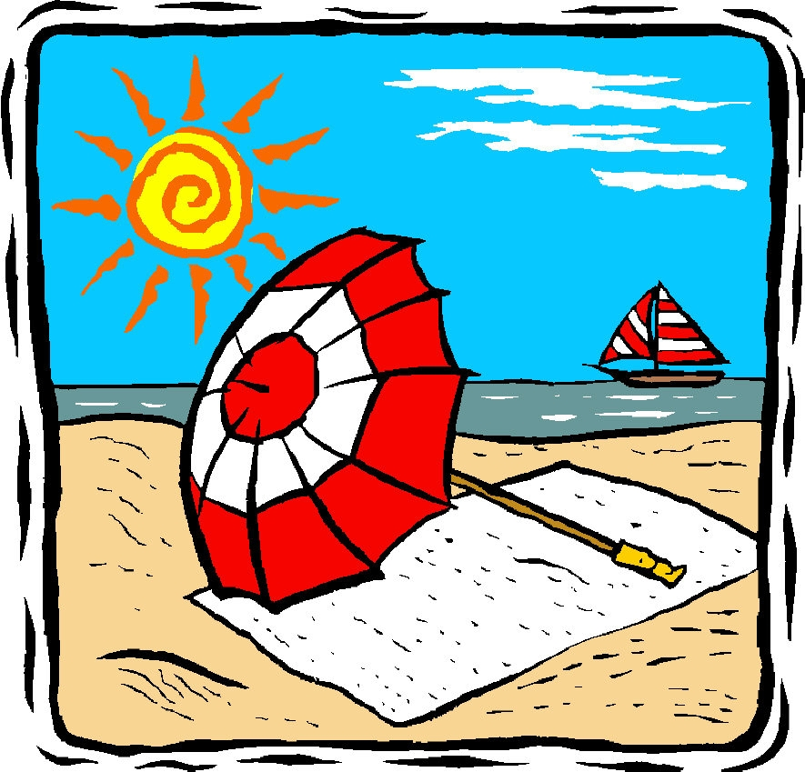 Summer holiday clip art free images sunny clipart summer holiday pencil and  in color sunny clipart