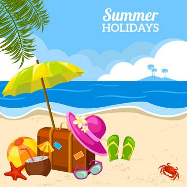 Summer holidays clip art summer clipart -Summer holidays clip art summer clipart family holiday pencil and in color  summer clipart ideas-5