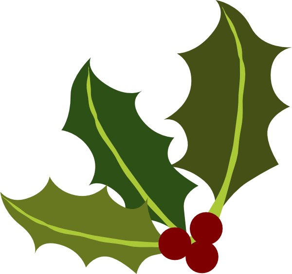 Holly berries clip art free