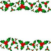 Holly Berry Clipart Border - .-Holly berry clipart border - .-13