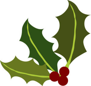 ... Holly clip art free ... - Free Holly Clipart