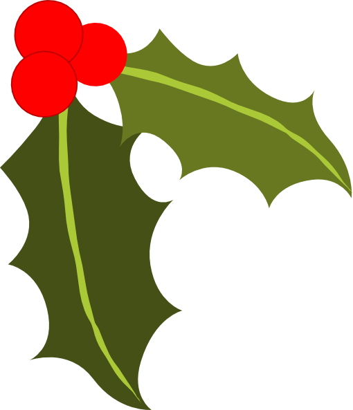 Holly clip art - vector clip art online, royalty free public domain