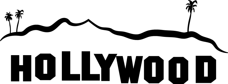 Hollywood Sign Clipart-Clipartlook.com-800