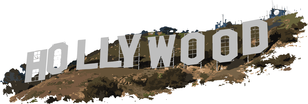 Hollywood Sign PNG Clipart