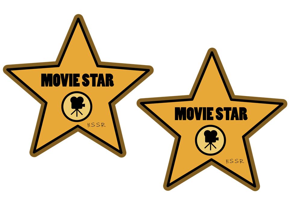 Hollywood Star Clipart u0026middot; Movie Star Clipart