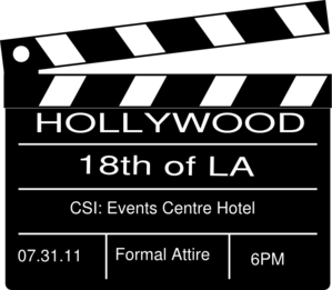 Hollywood Theme Party Clip Art-Hollywood Theme Party Clip Art-15