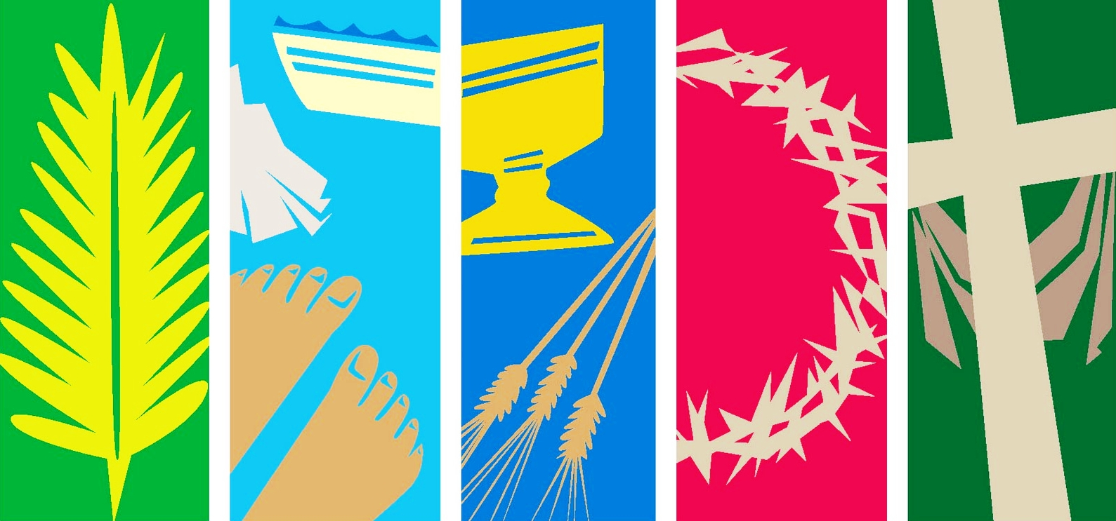 Holy Week Clip Art Background