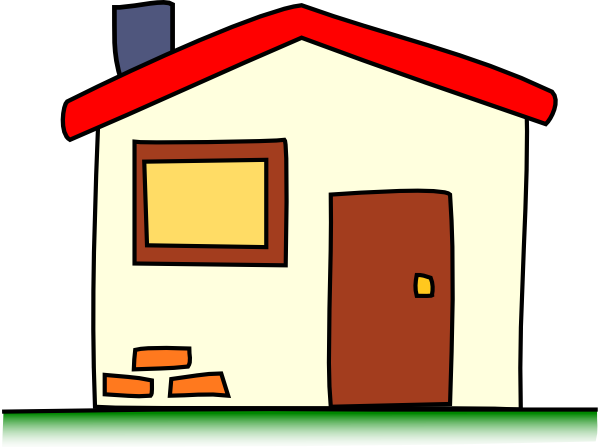 Home clip art kid friendly free clipart images