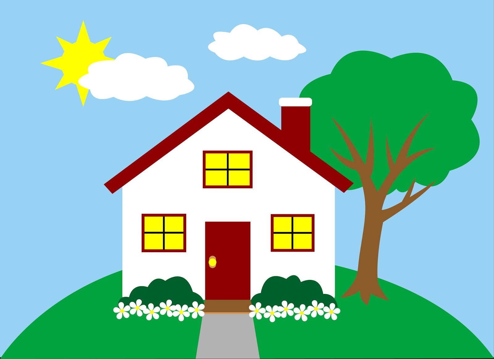 Home clipart free cliparts for work study and entertainment