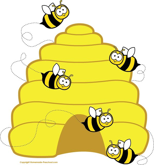 Home Free Clipart Bee Clipart Beehive Bees Carmens Class