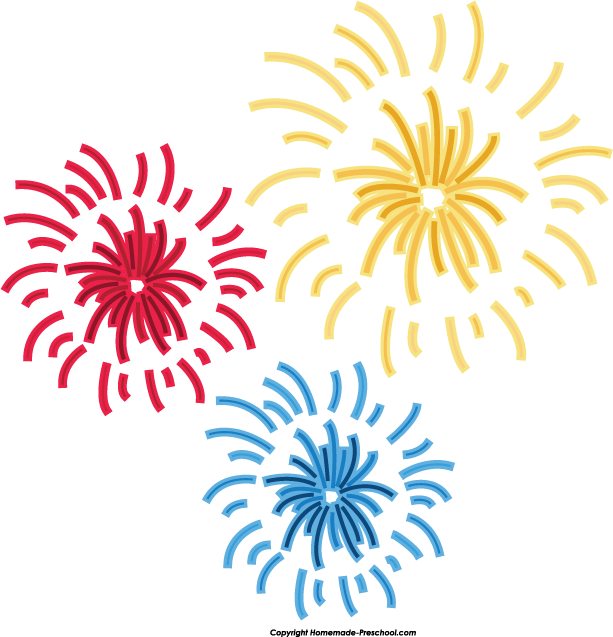 Home Free Clipart Fireworks Clipart Big Fireworks