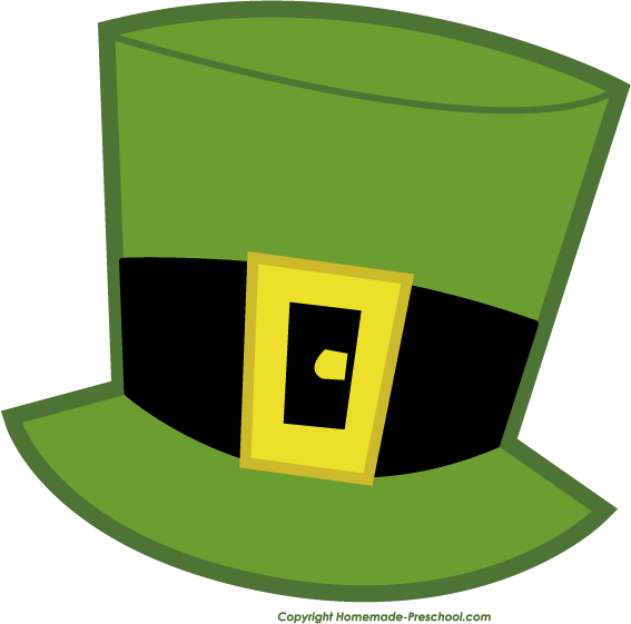 Home Free Clipart Free Irish Clipart Leprechaun Hat