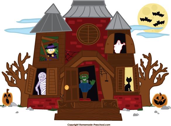 Home Free Clipart Halloween Clipart Haun-Home Free Clipart Halloween Clipart Haunted House Friends-19