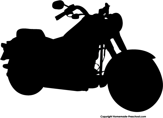 Home Free Clipart Silhouette Clipart Silhouette Motorcycle