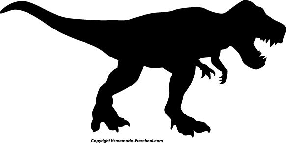 Home Free Clipart Silhouette Clipart Silhouette T Rex