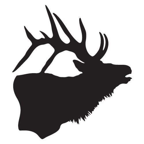 Home Vinyl Decals Elk Silhouette Decal-Home Vinyl Decals Elk Silhouette Decal-16