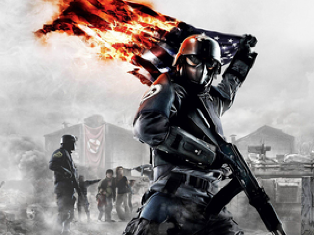 Homefront Video Game Clipart playing