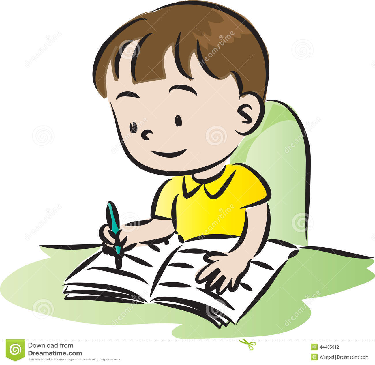 Homework clip art images