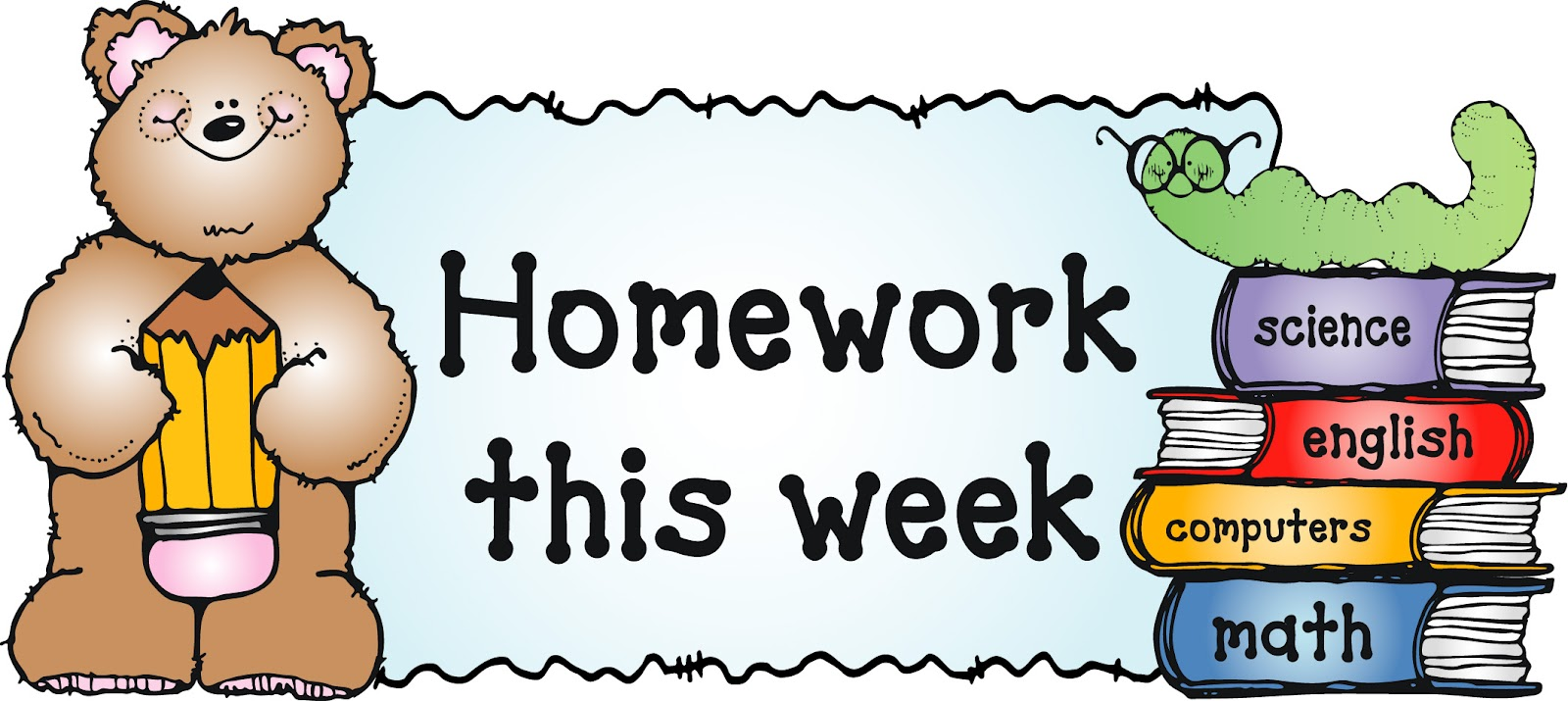 Homework Clipart Border Introducere Home-Homework clipart border Introducere Homework Clip Art For Kids Clipart Library-11