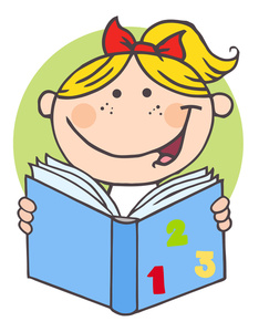 Homework Clipart Image Girl Child Doing Math Homework