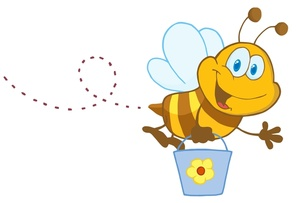 Honey Bee Clipart Image-Honey Bee Clipart Image-15