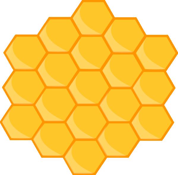 Honeycomb Clip Art At Clker Com Vector Clip Art Online Royalty Free