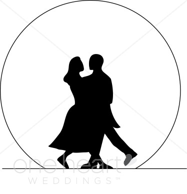 Couple Dancing Clip Art - Honeymoon Clipart