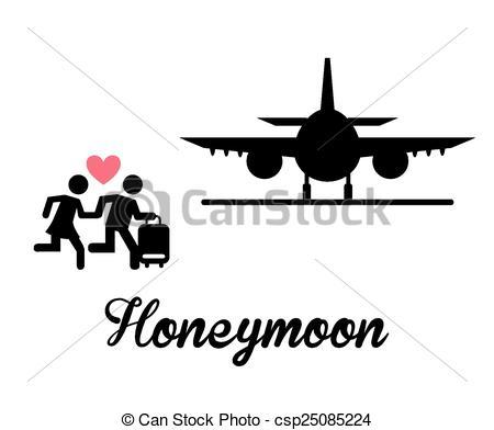 honeymoon - csp25085224 - Honeymoon Clipart