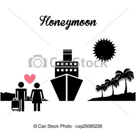 honeymoon - csp25085226 - Honeymoon Clipart