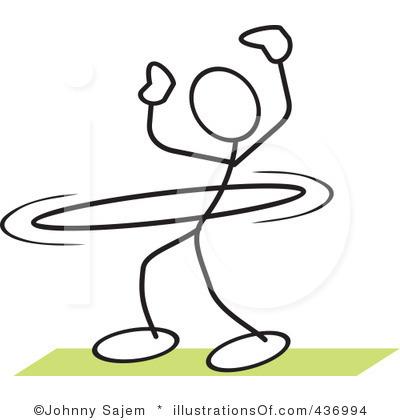 Hoop Clipart Royalty Free Hula Hoop Clipart Illustration 436994 Jpg