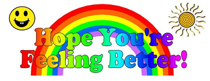 Hope You Feel Better Clip Art-Hope You Feel Better Clip Art-15