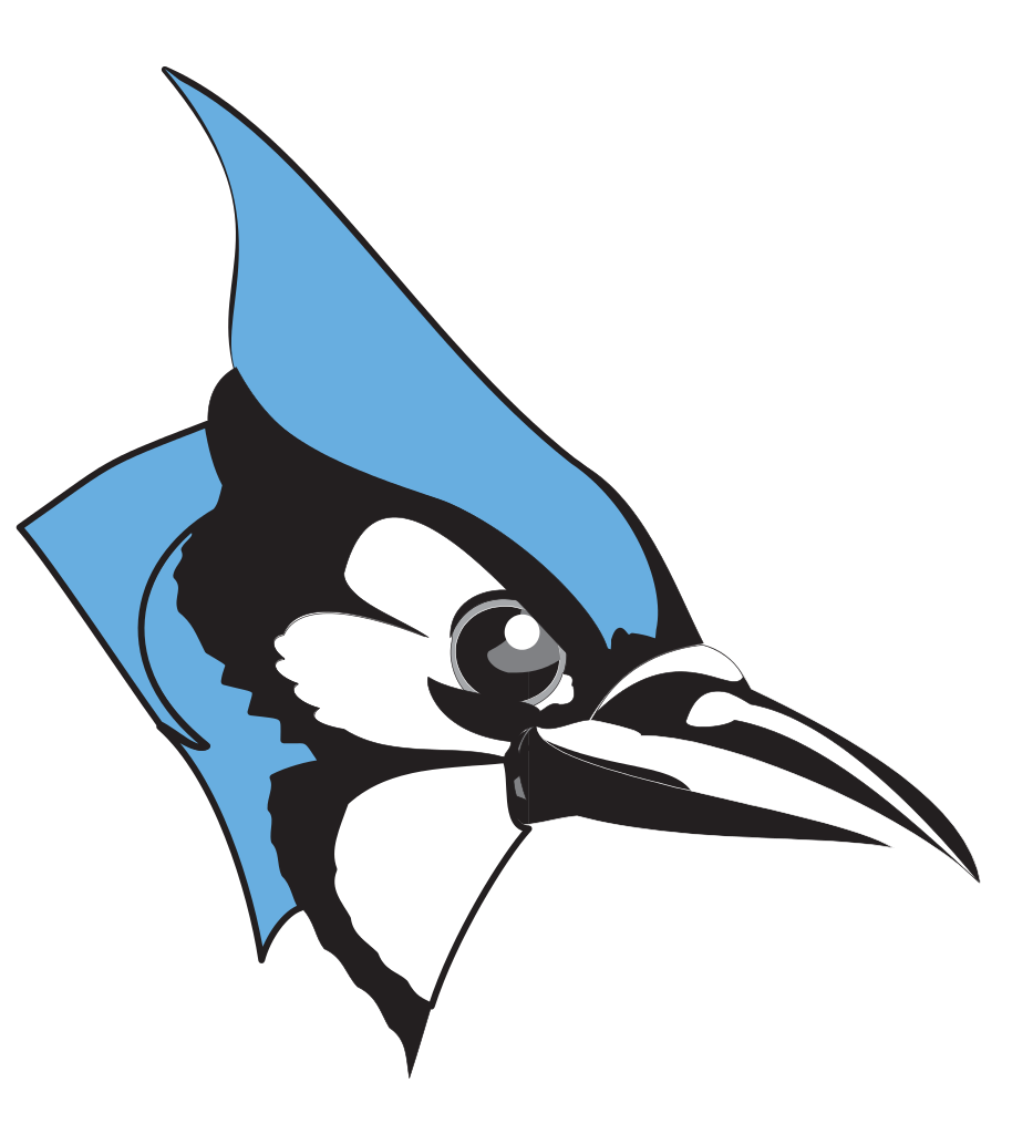 Hopkins Blue Jays Clipart #1