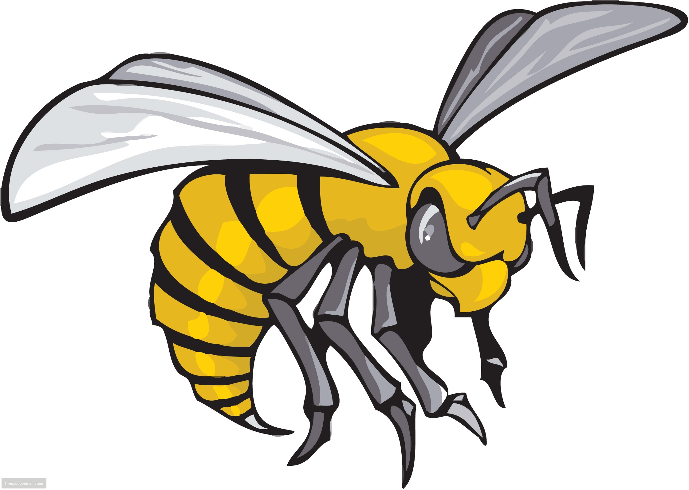 Hornet Mascot Clipart Cliparts Co