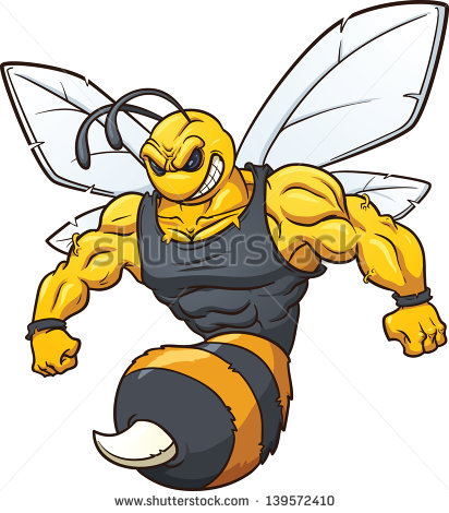 Hornet Mascot Stock Photos Illustrations And Vector Art Clipart