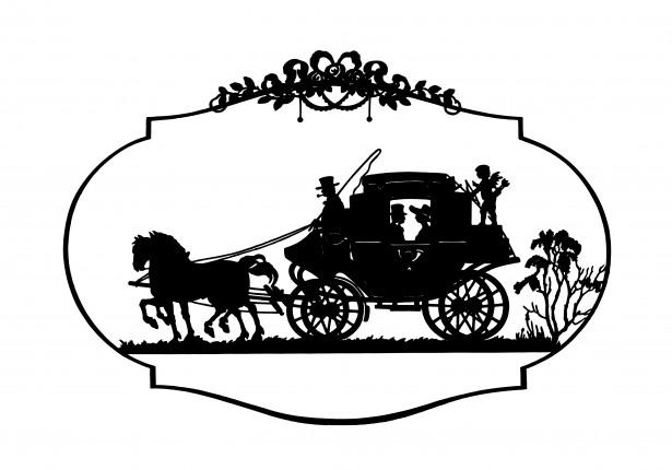 Horse u0026amp; Carriage Vintage Clipart Free Stock Photo - Public Domain Pictures
