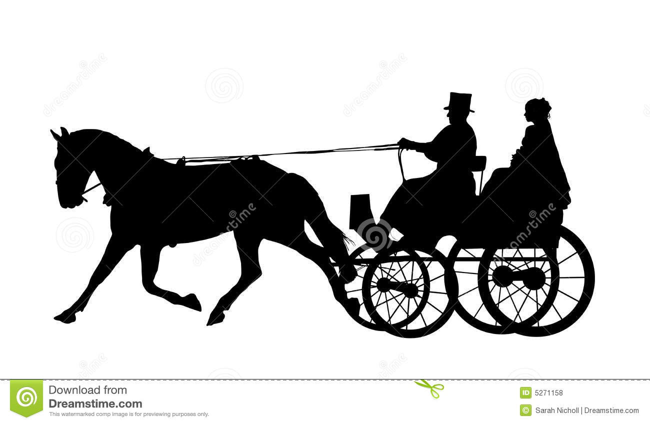 Horse Carriage Clipart Horse .