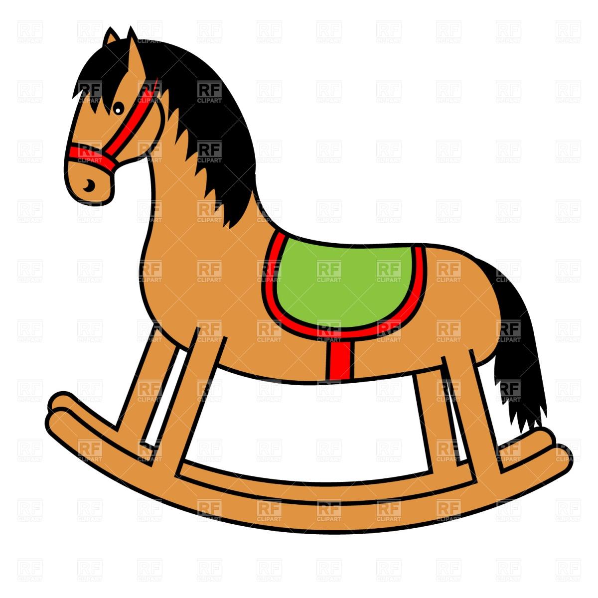 ... Horse Clipart . Rocking c - Rocking Horse Clip Art